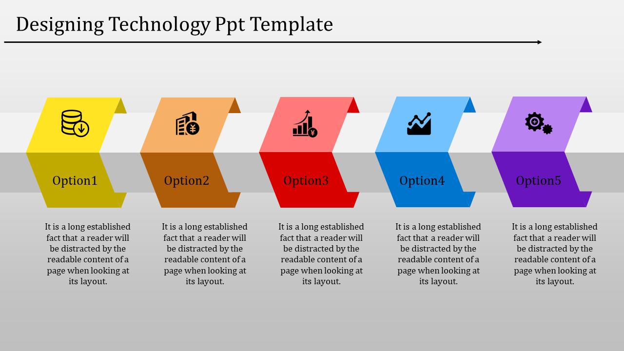 Procedural Timeline PPT Template