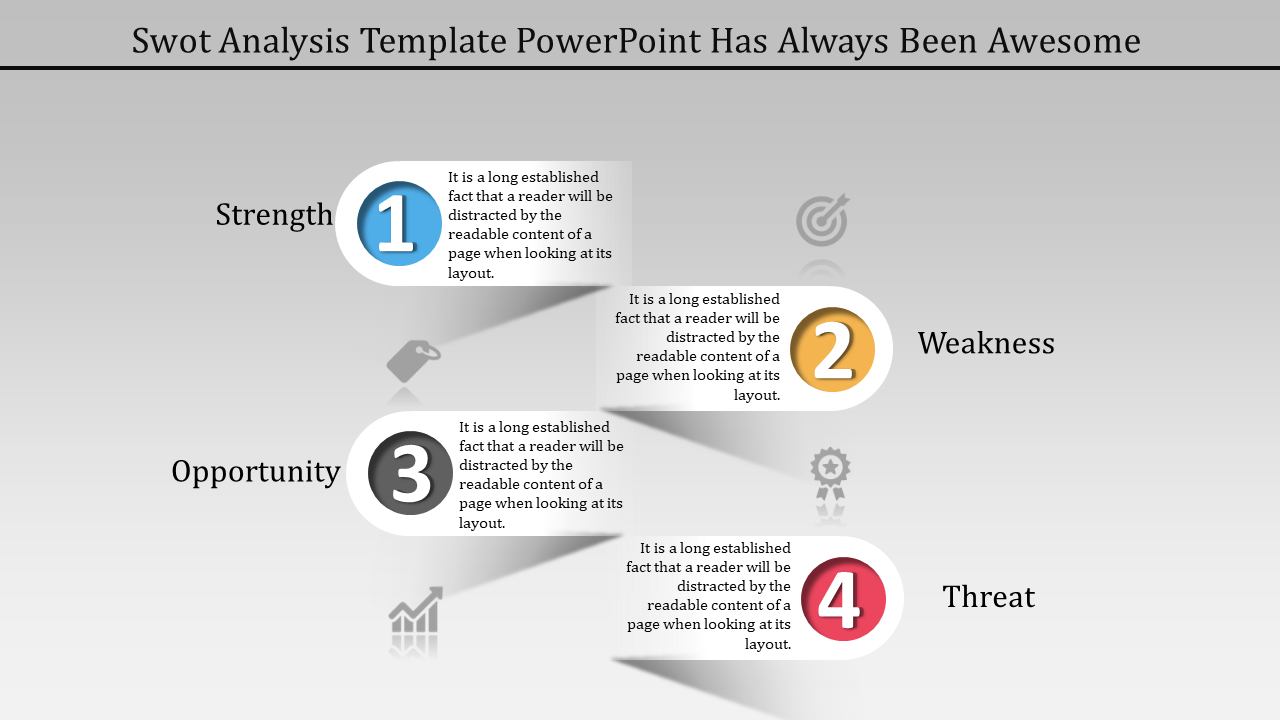 Best Infographic SWOT Analysis Template Powerpoint