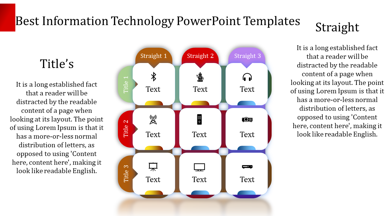 Information Technology Powerpoint Template-Infographic Designs