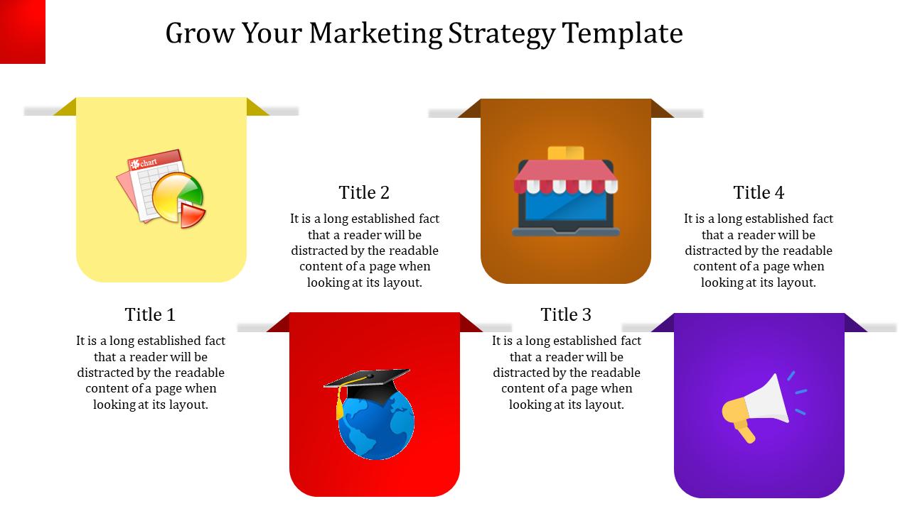 Marketing Strategy Template-Zigzag Model