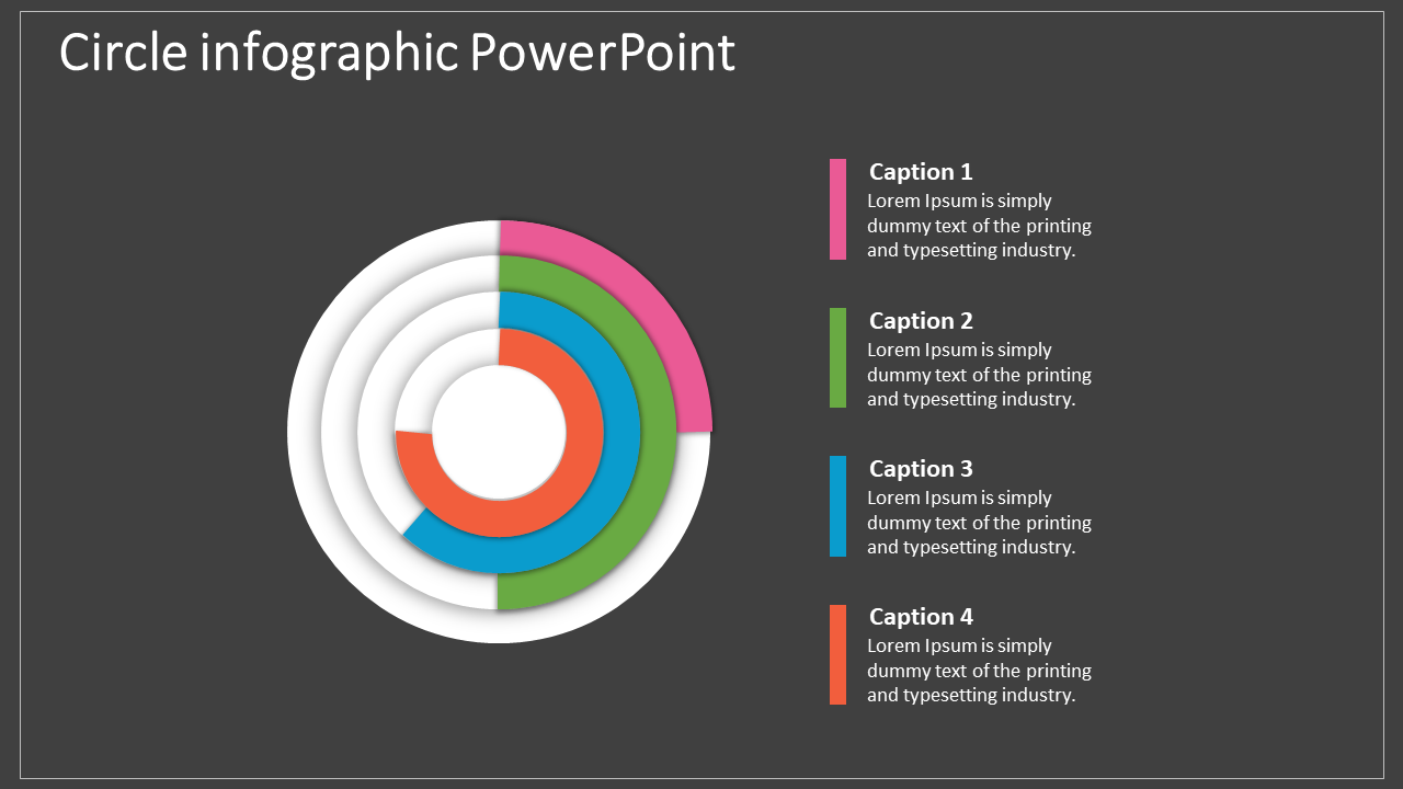 Best Concentric Circle Infographic Powerpoint