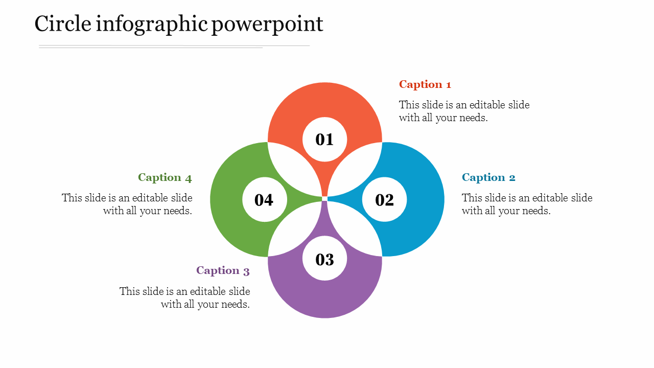 Best Circle Infographic Powerpoint