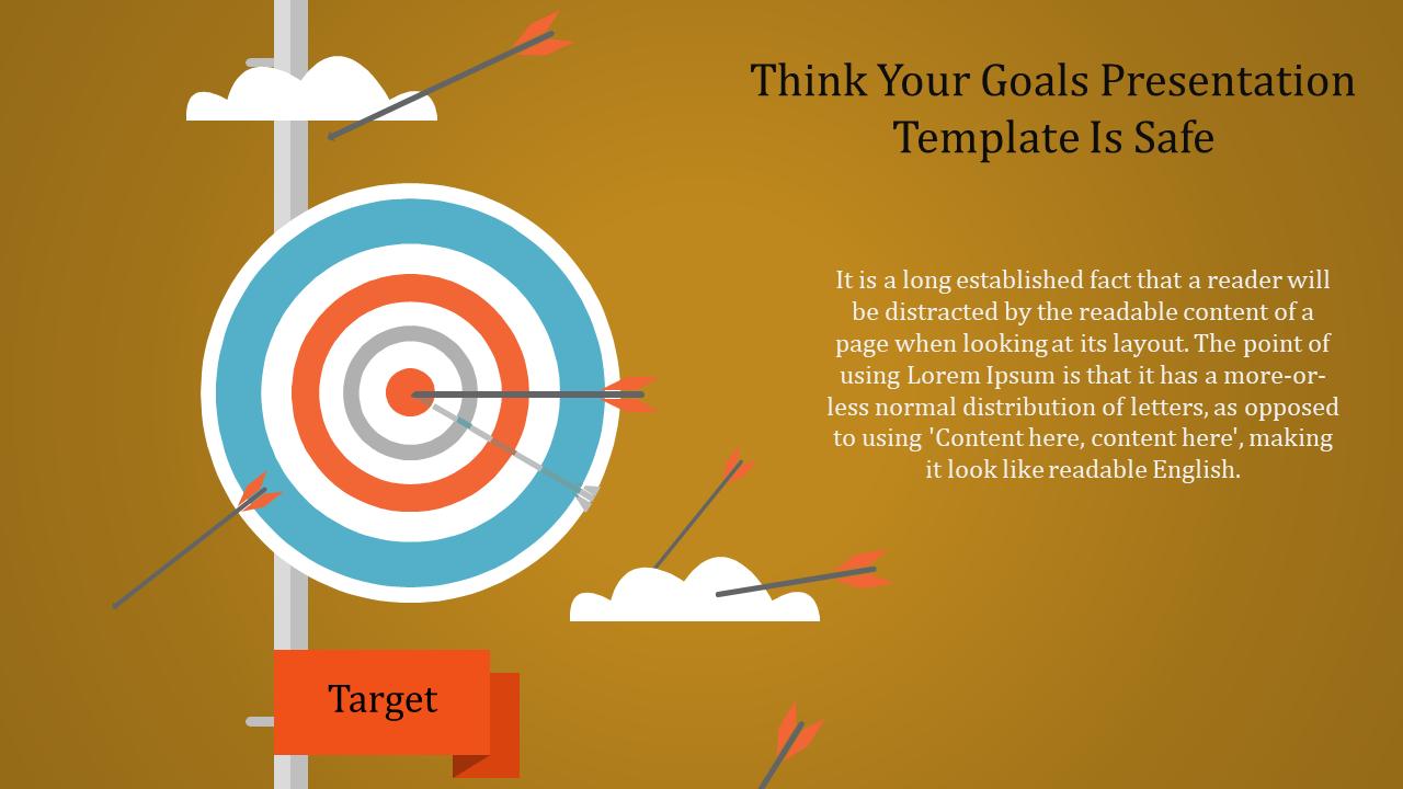 Professional Career Goals Presentation Template