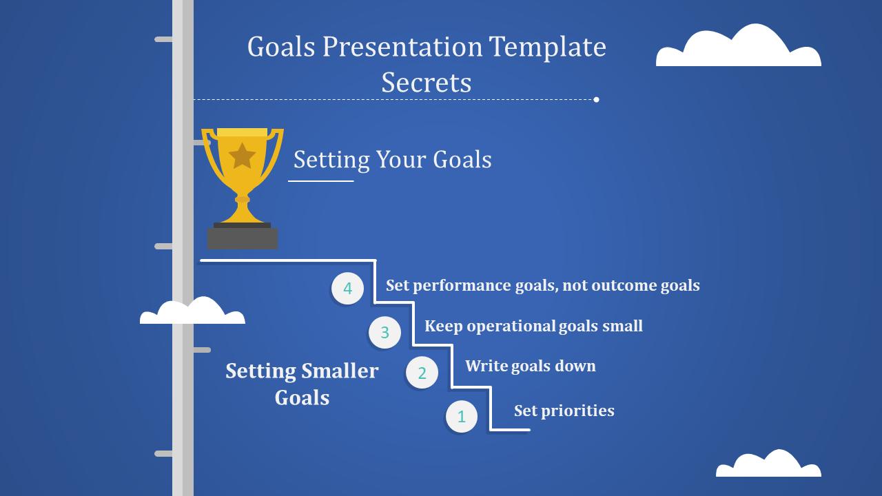 Strategics Goals Presentation Template