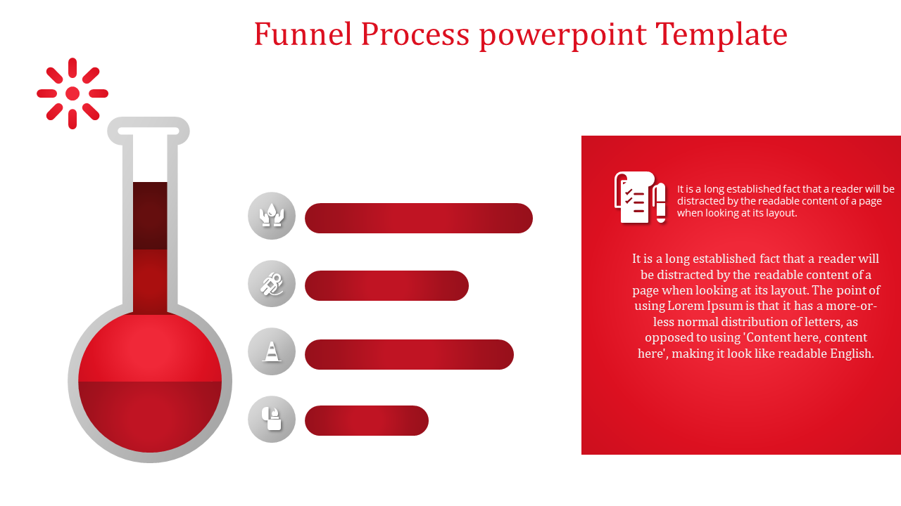 Simple Best Powerpoint Funnel Template