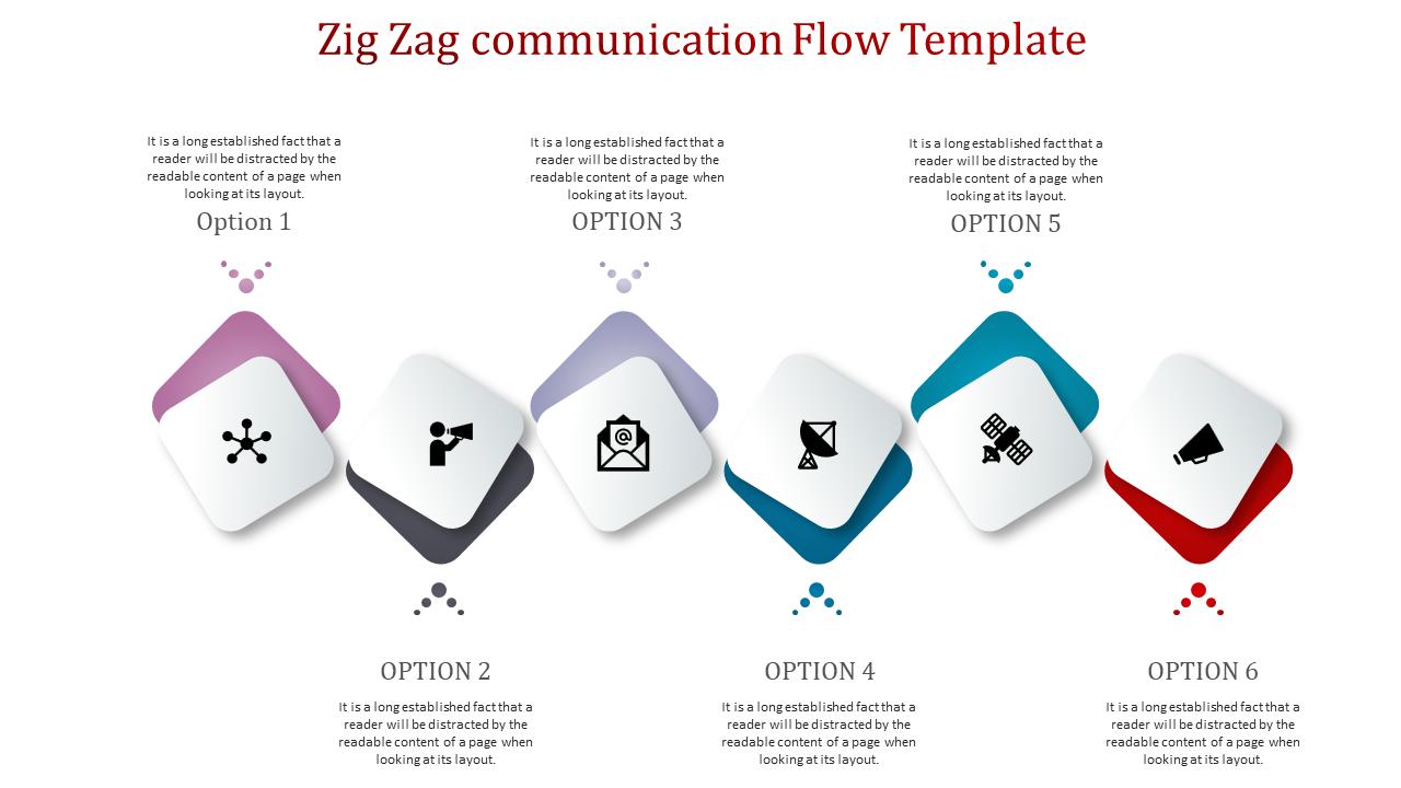 Zig Zag Powerpoint Template
