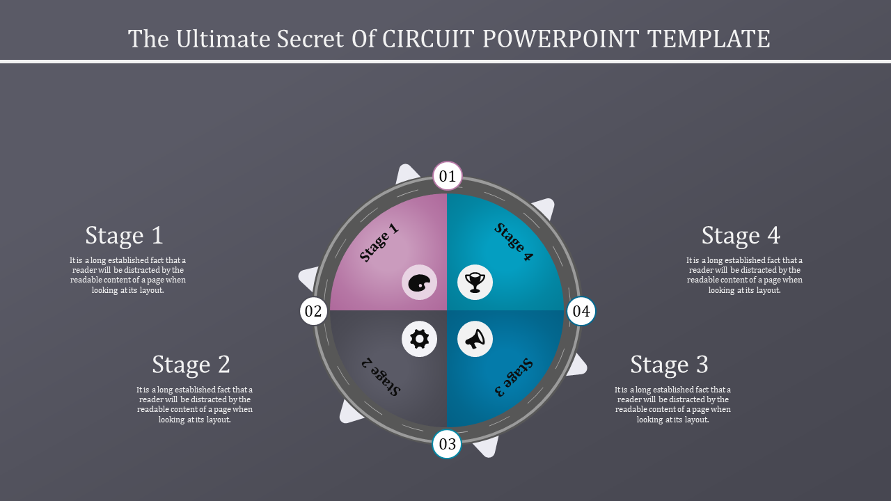 Free - Circuit Powerpoint Template