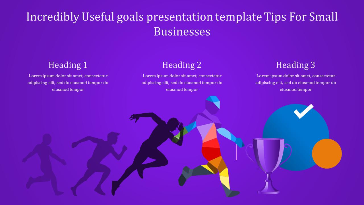 Goals Presentation Template