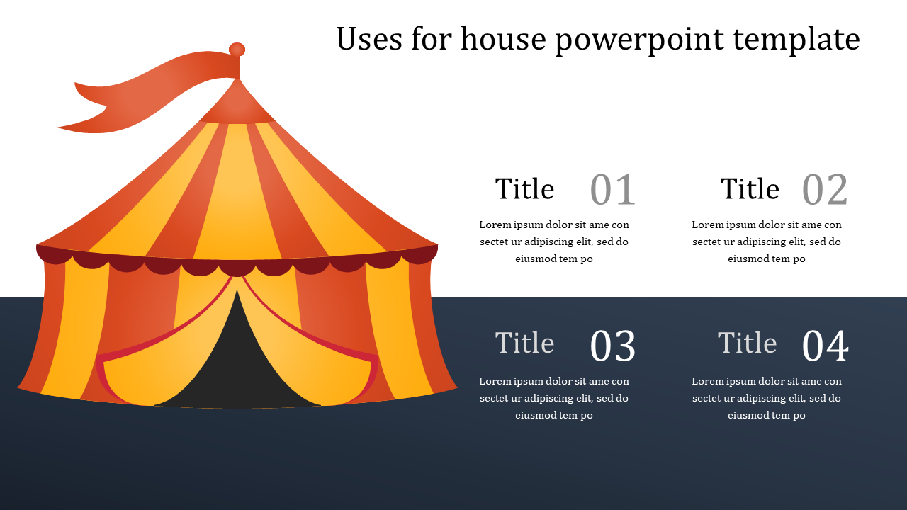 SlideEgg | house powerpoint template-Uses for house