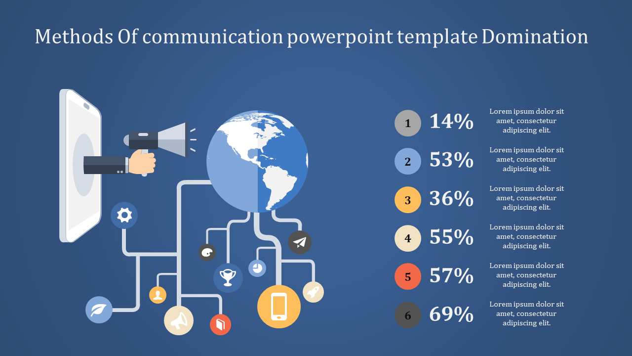 Amazing Communication Powerpoint Template