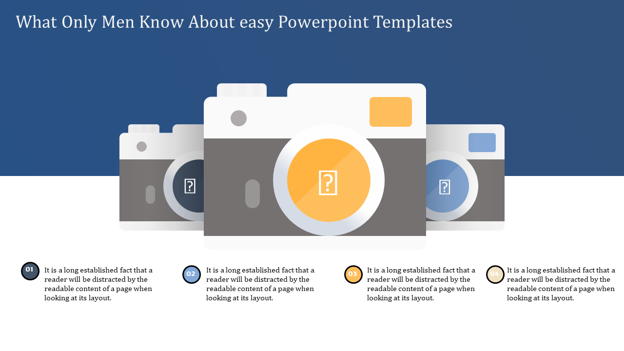Easy Powerpoint Templates - Three Camera Model