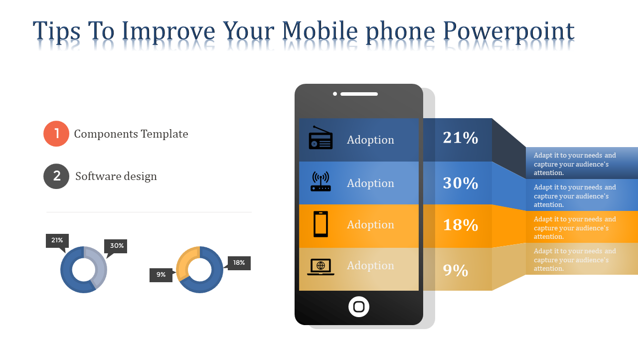 Mobile Phone Powerpoint Template - Mobile Model