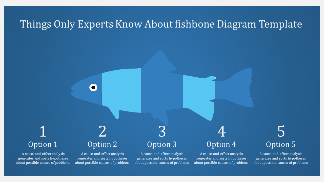 Attractive Fishbone Diagram Template Powerpoint