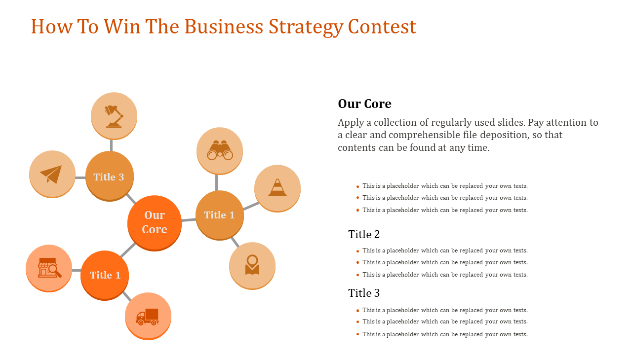 Web Shaped Business Strategy Template
