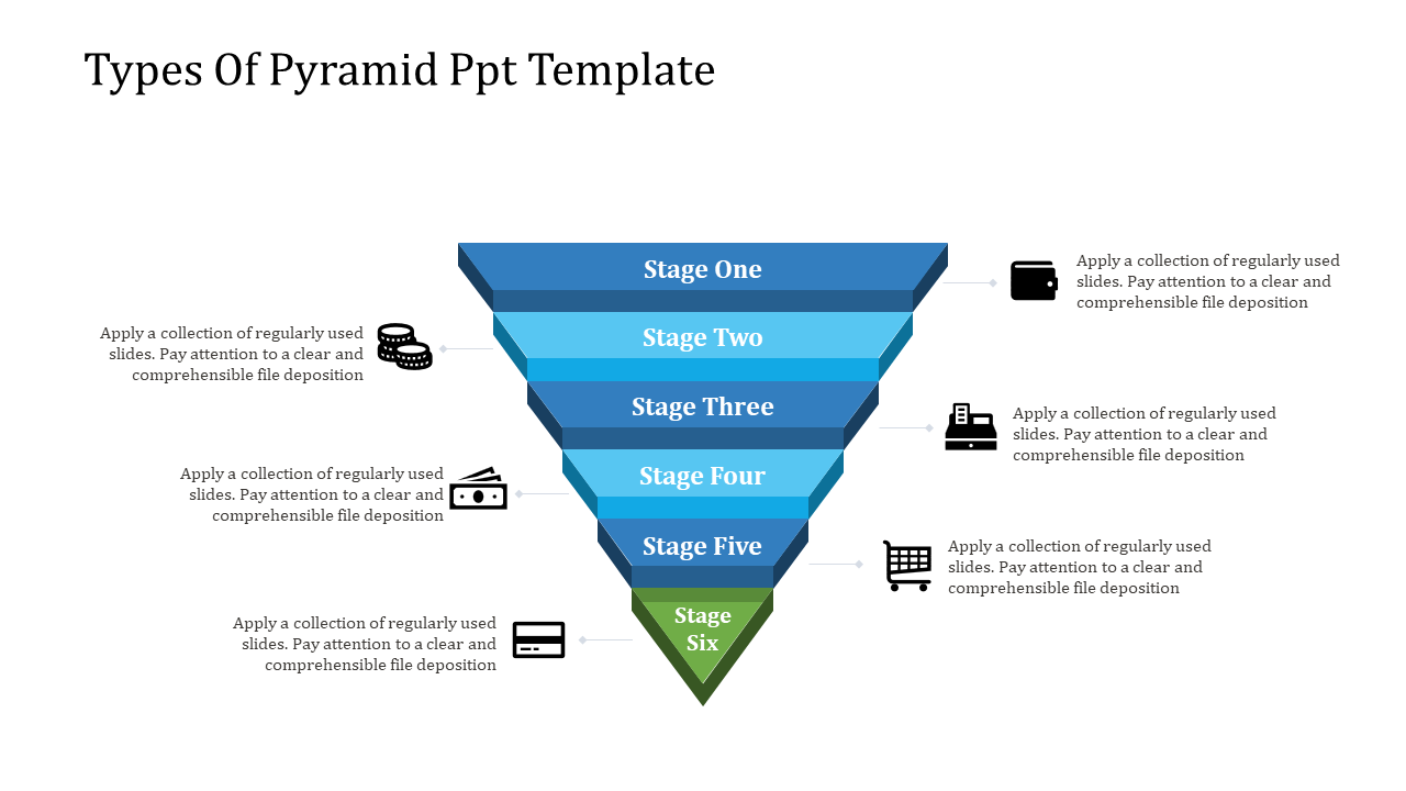 Free - The Miracle Of Pyramid PPT Template