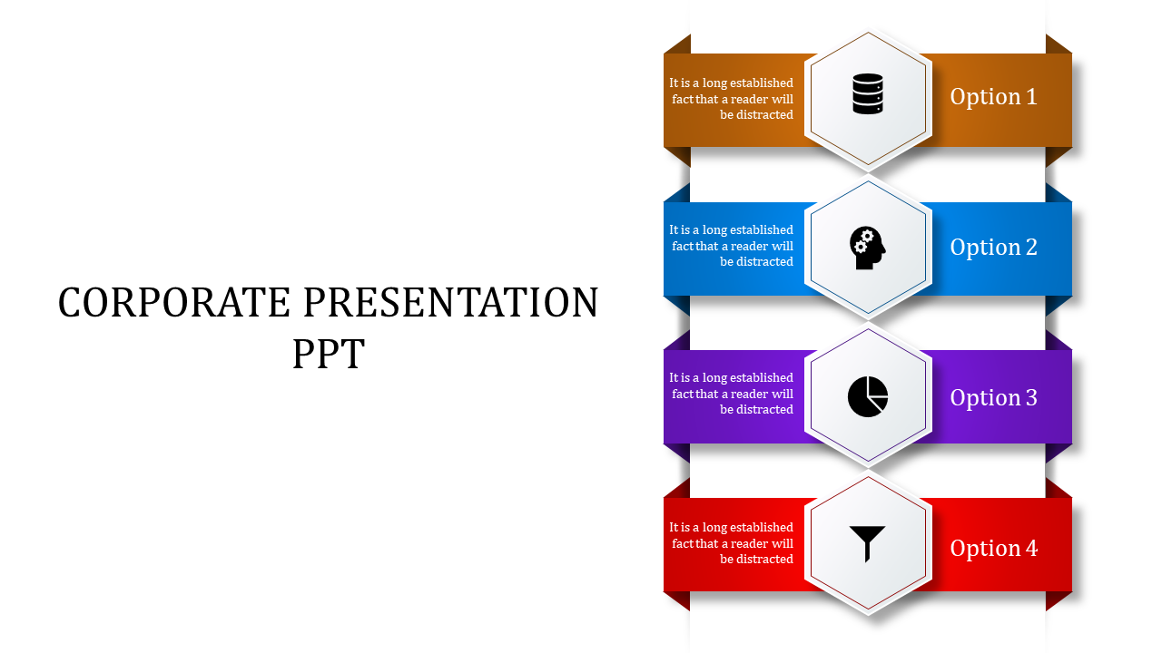 A Four Noded Corporate Presentation PPT