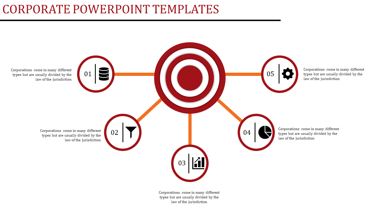 Free - Corporate Powerpoint Templates - 5 Separation
