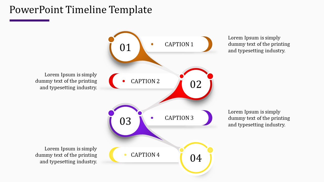Timeline Powerpoint Template Free from www.slideegg.com