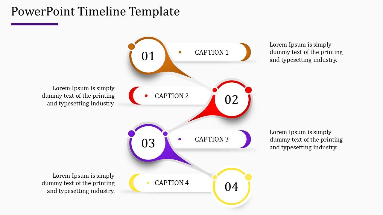 Creative Powerpoint Timeline Template Model Slideegg