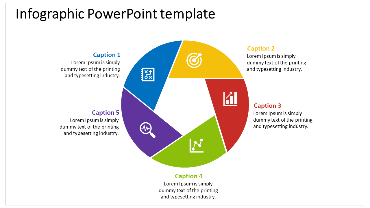 Free-Business Process Infographic Powerpoint Template