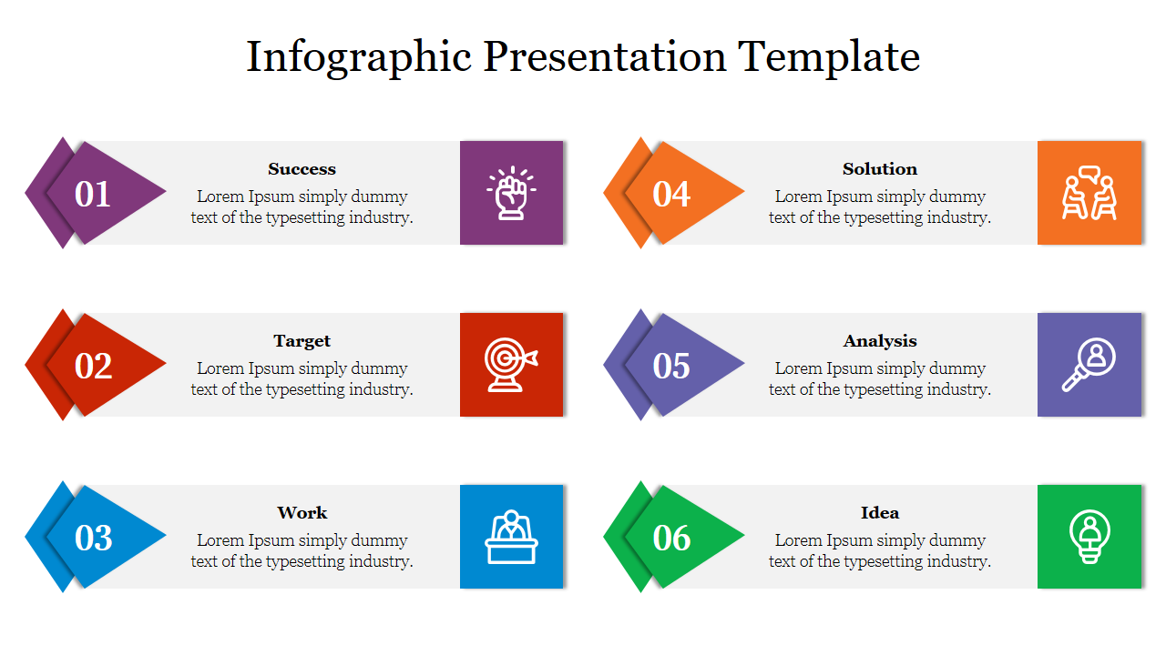 Free-Business Excellence Infographic Presentation Template
