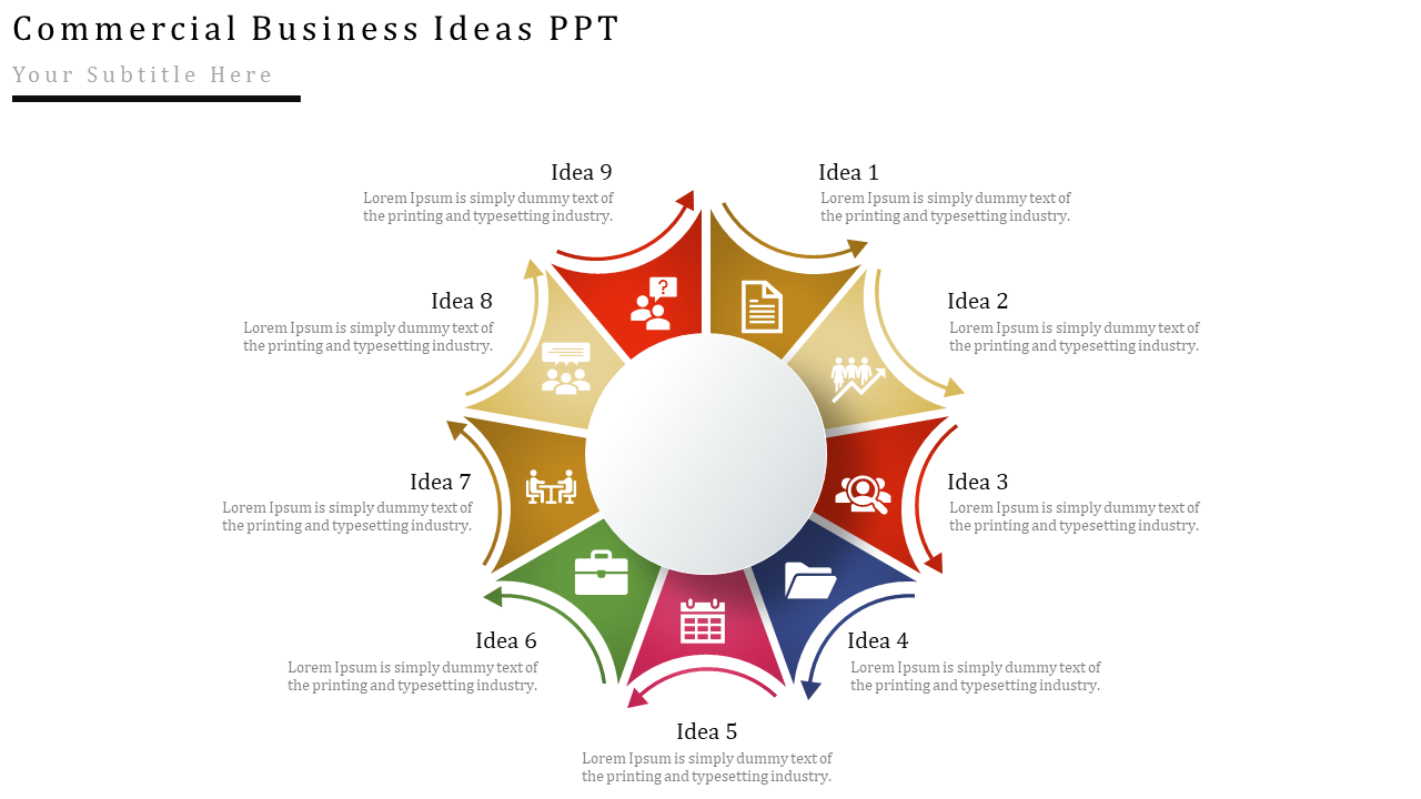Commercial PowerPoint Templates For A Great Business