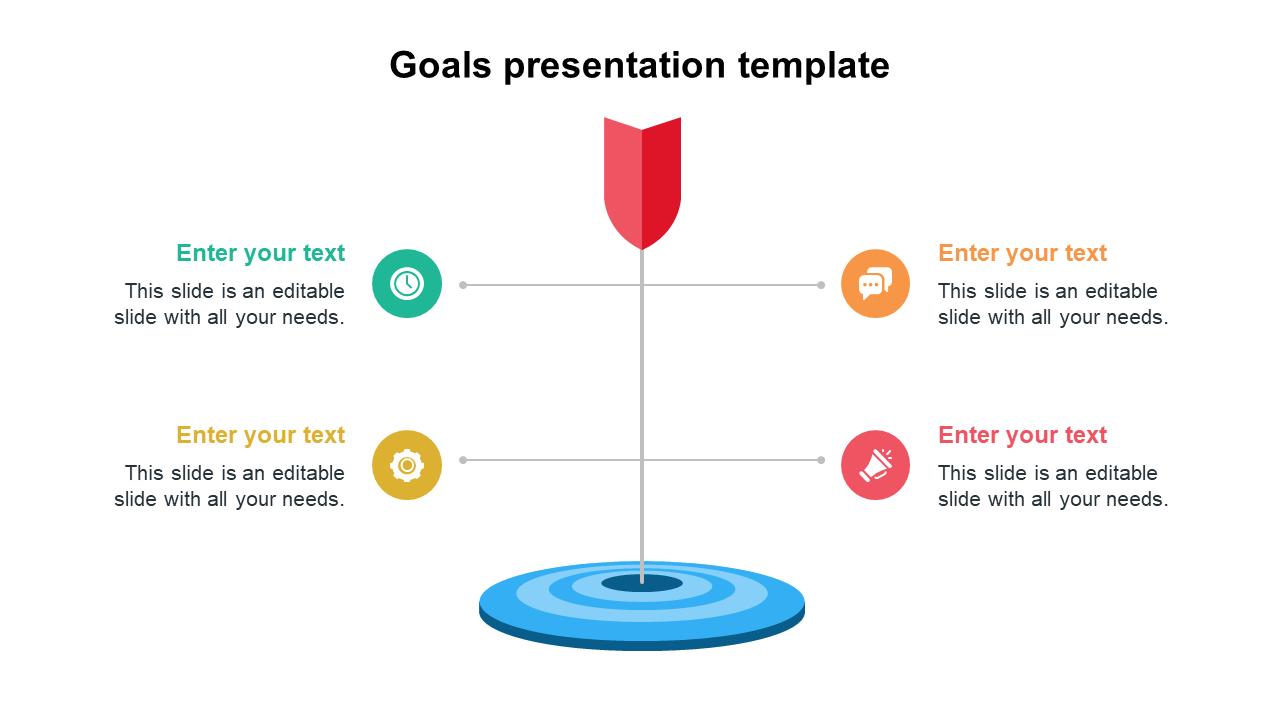 Goals Presentation Template Designs