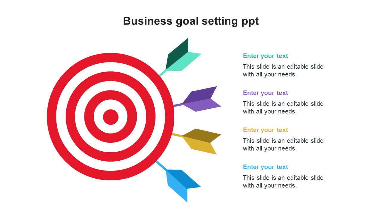 Business Goal Setting PPT Templates