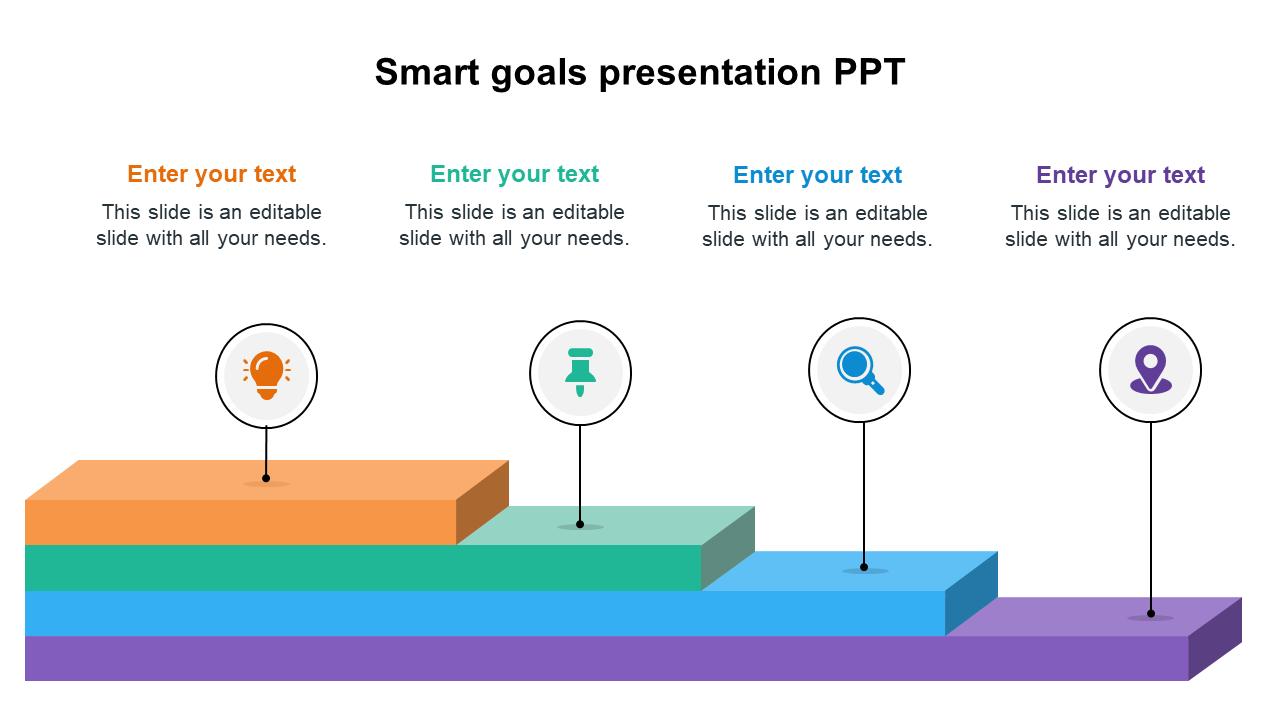 Smart Goals Presentation PPT Templates