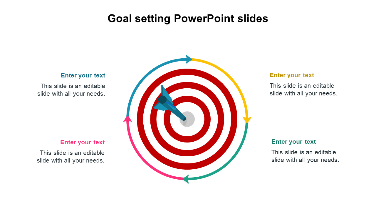 Goal Setting PowerPoint Slides Templates