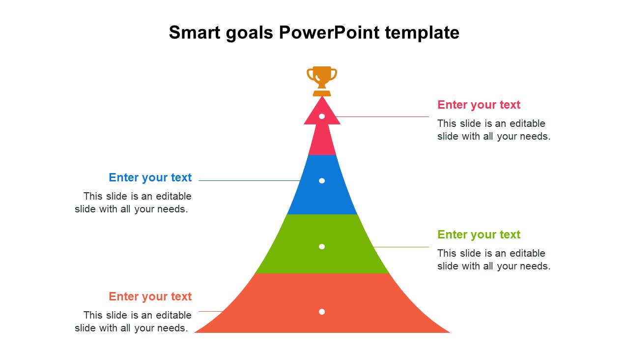 Smart Goals PowerPoint Template Designs