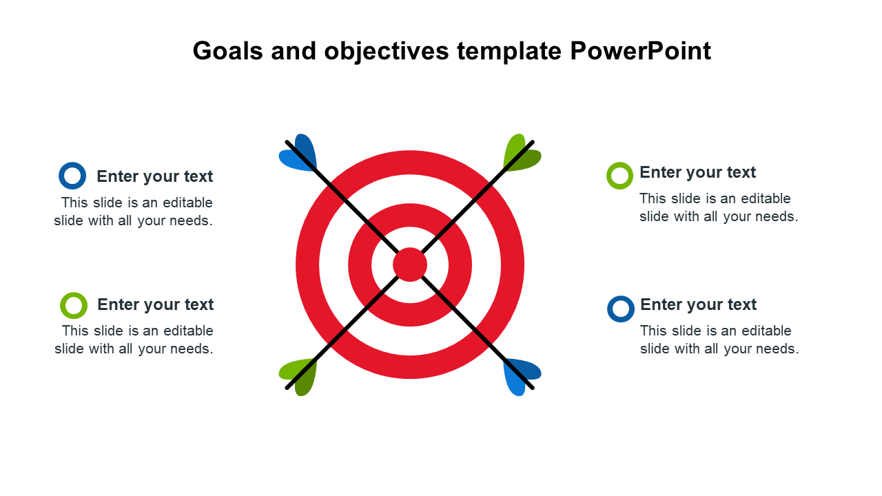 Goals And Objectives Template PowerPoint Designs
