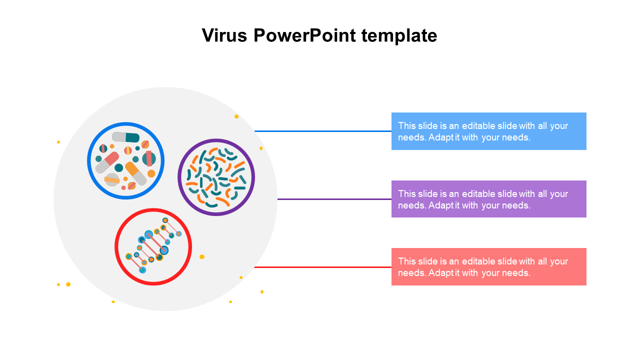 Simple Virus PowerPoint Template