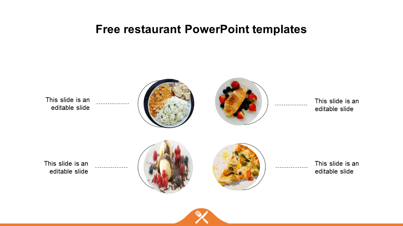 Free Restaurant Powerpoint Templates Diagrams Slideegg