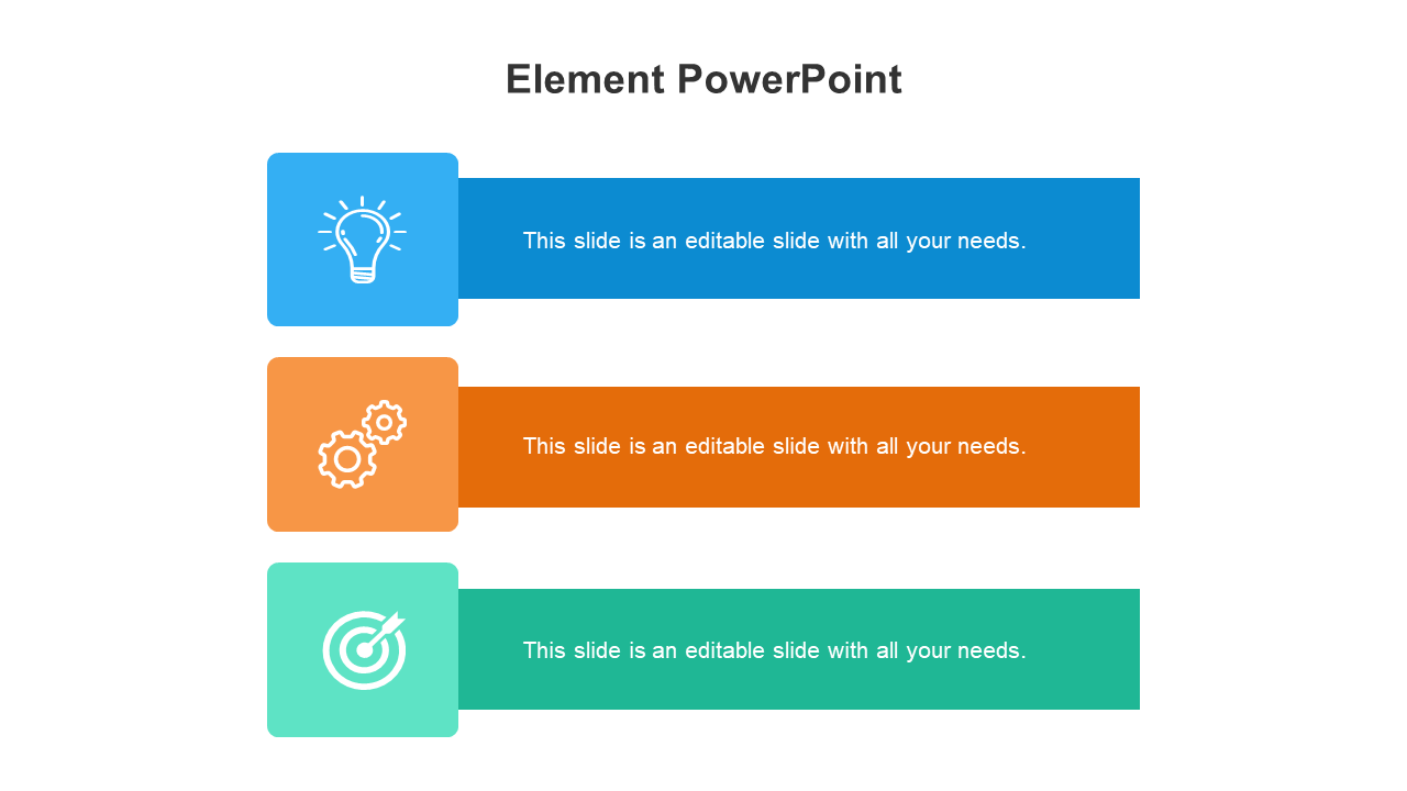 Element PowerPoint Template