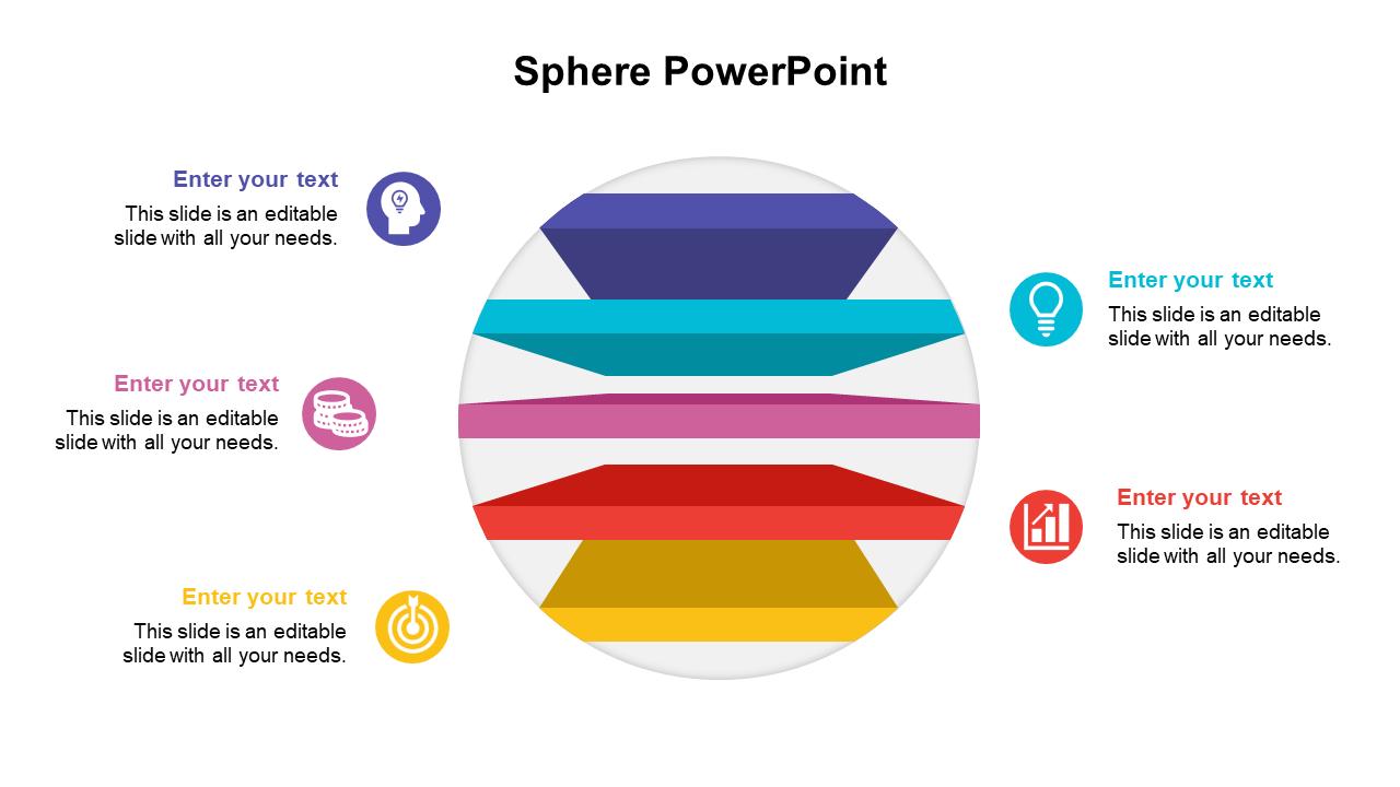 Sphere PowerPoint Presentation Slides