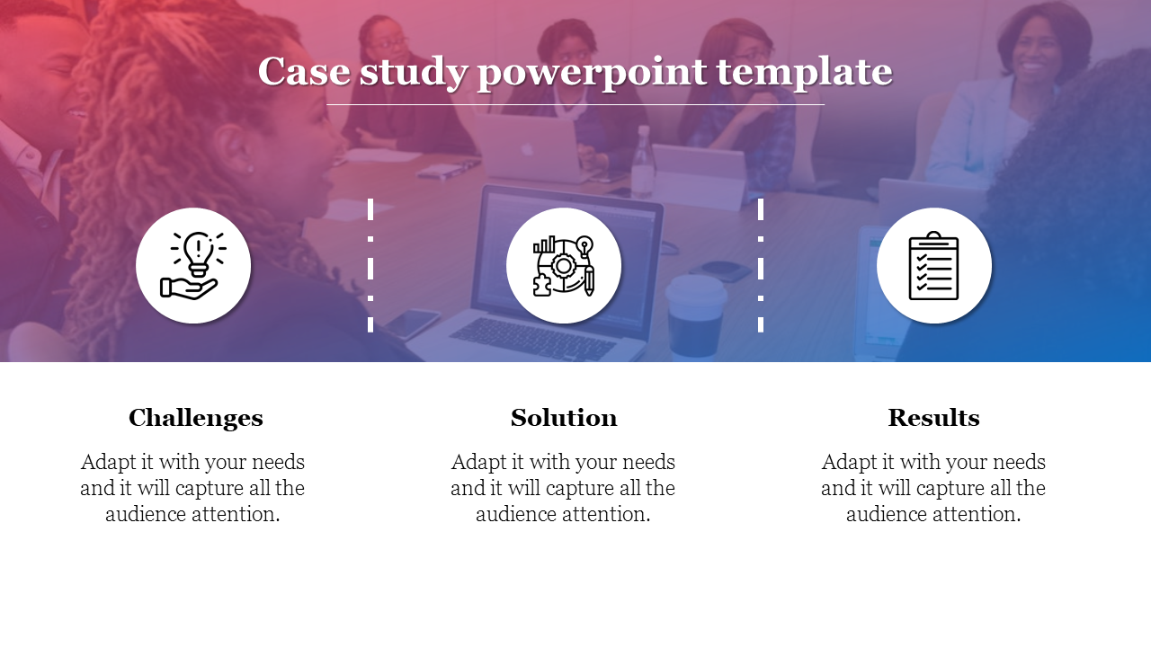 Free - Free Case Study PPT Template For Business