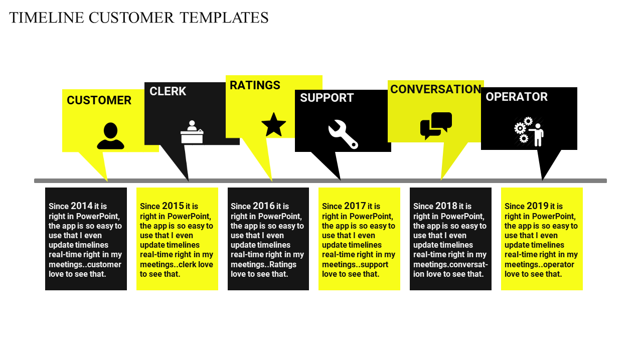 Free - Infographic Slide Timeline Template