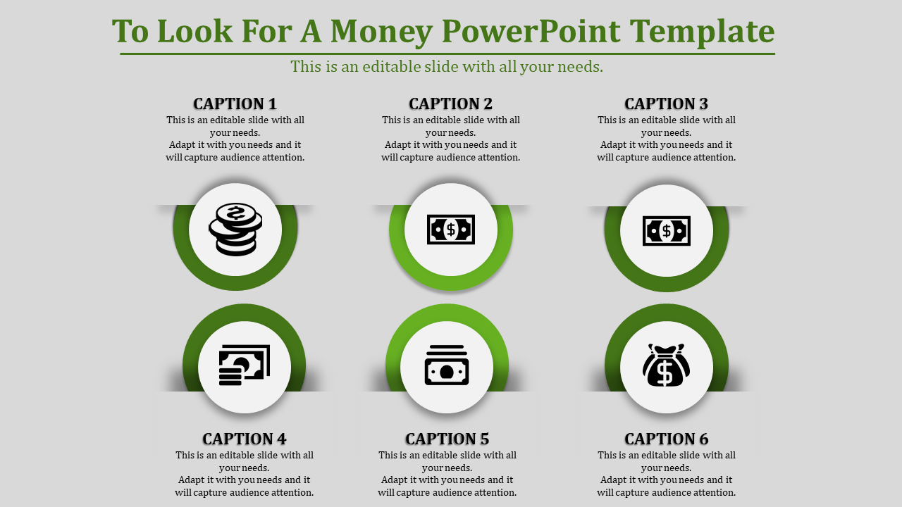 Money Powerpoint Template