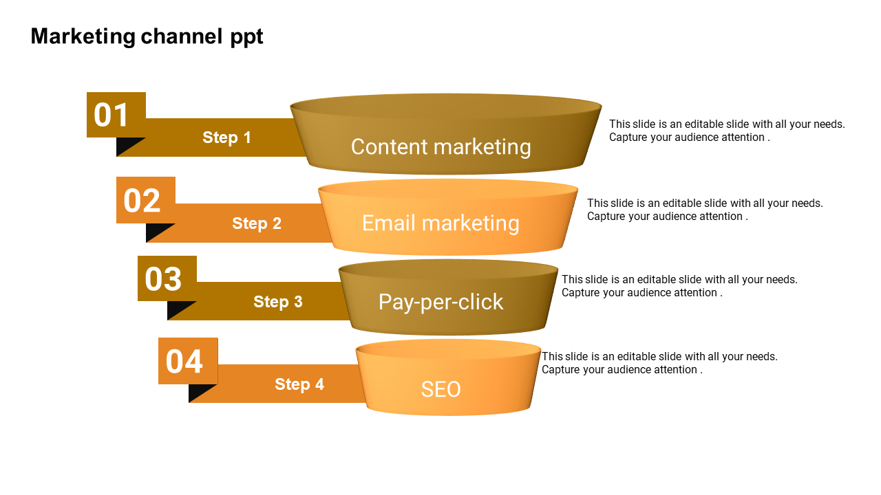 Marketing Funnel Powerpoint Template - Infographic - SlideEgg