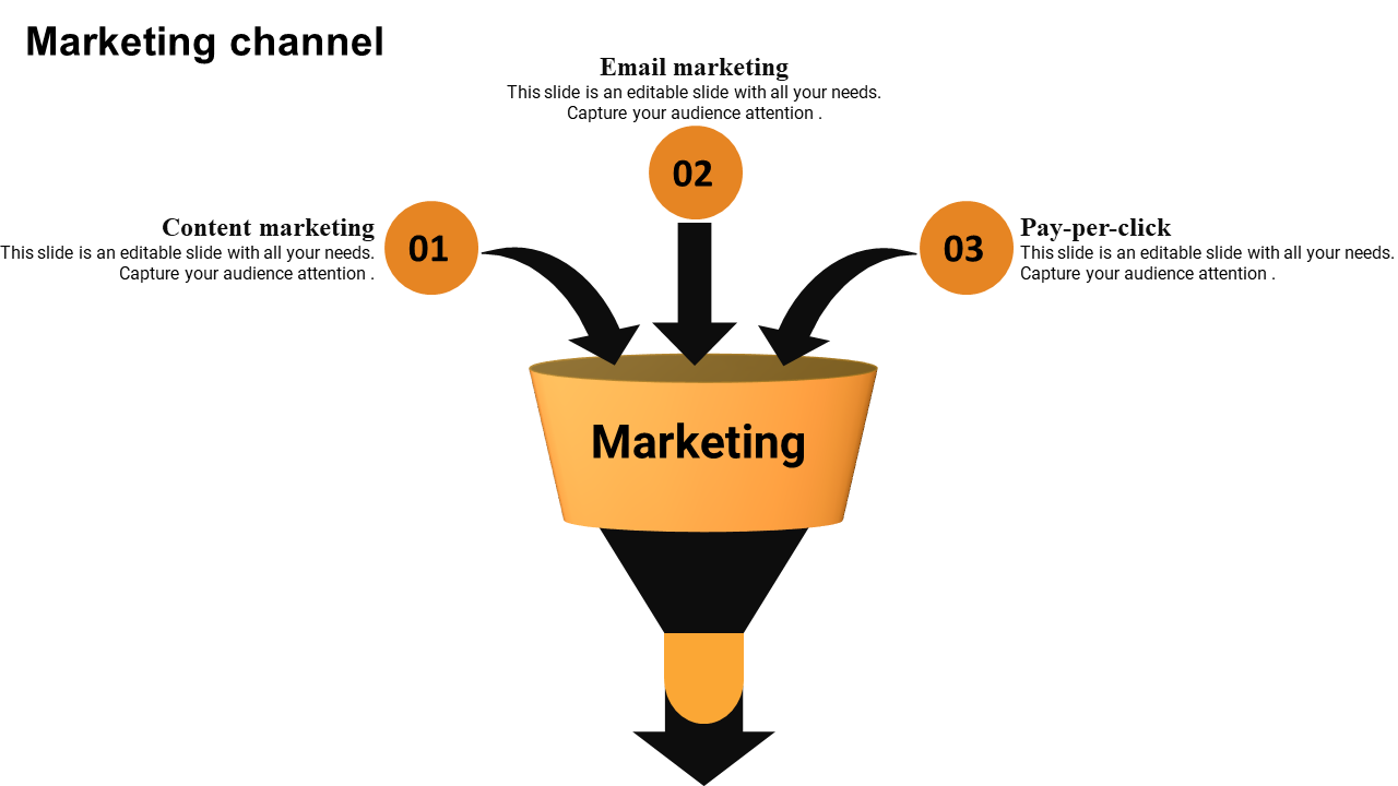 The Marketing Funnel Template Powerpoint