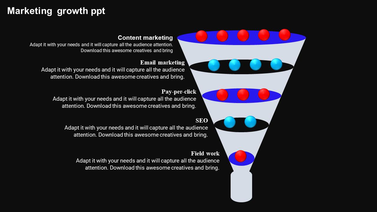 Free - Marketing Sales Funnel Diagram Powerpoint