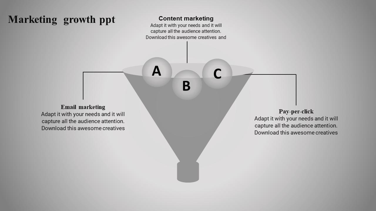 Sales Funnel Presentation In Filter Concept