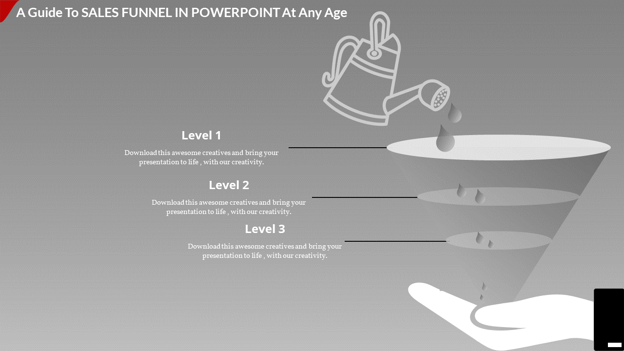 Funnel Powerpoint Template - Diagram Designed