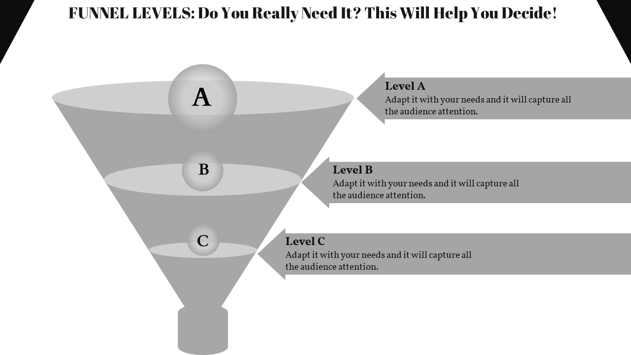 Funnel Powerpoint Template Diagram