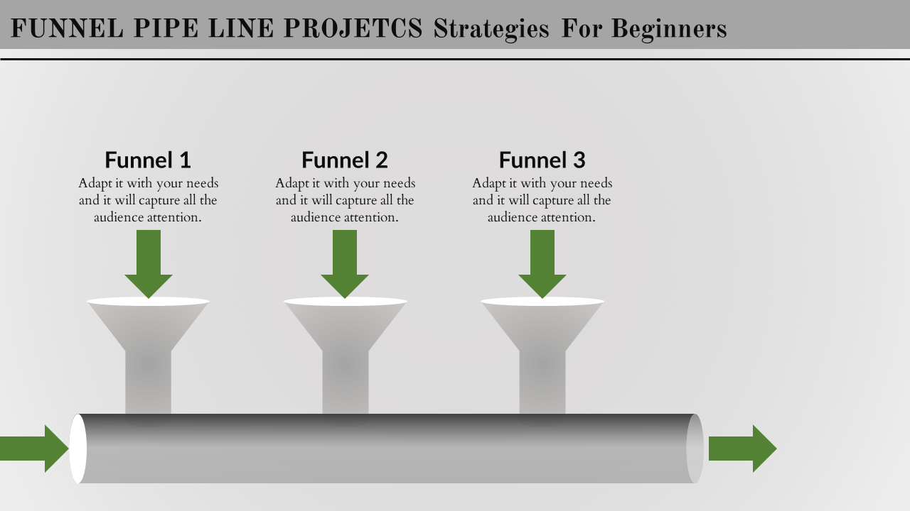 Free - Powerpoint Pipeline Template Design