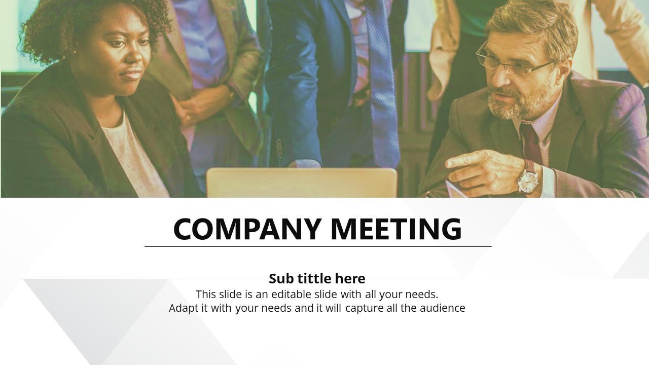 Company Sales & Marketing Strategy Template