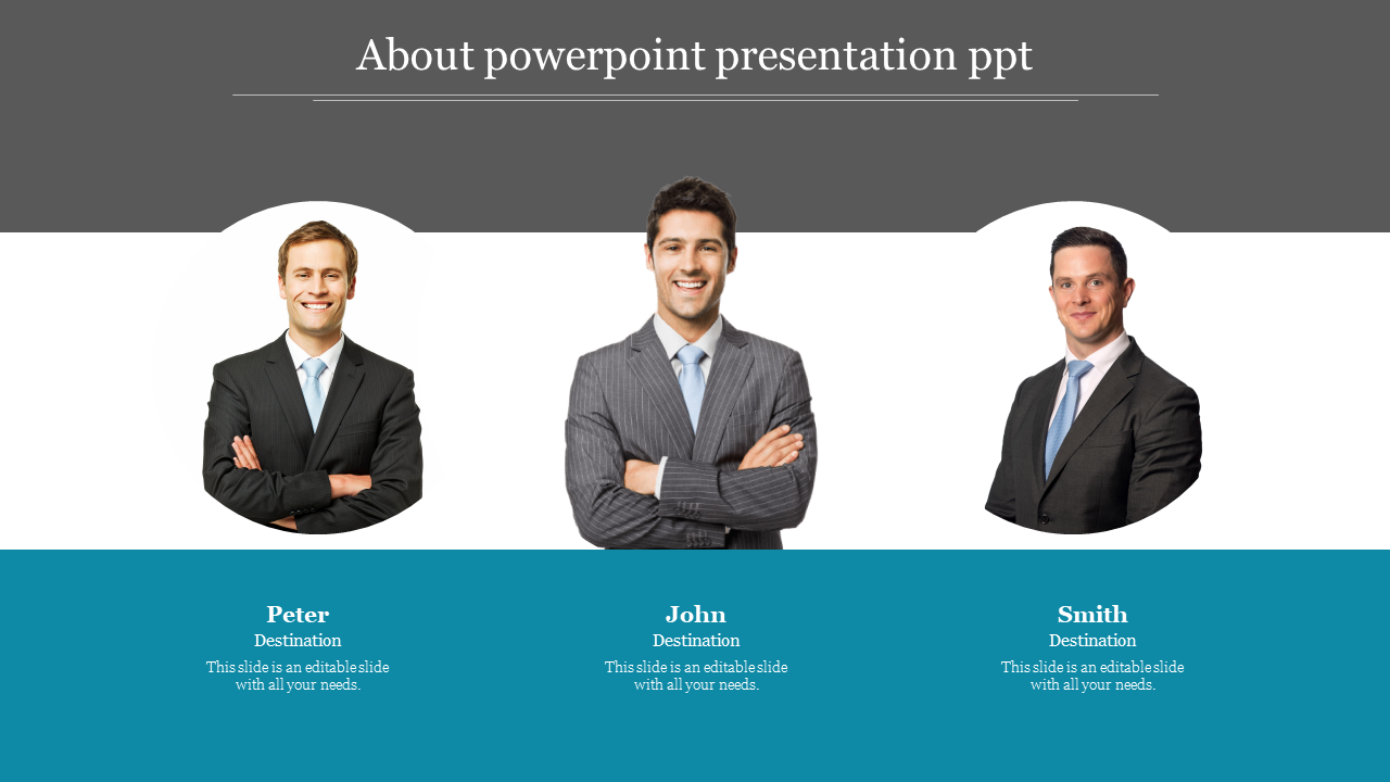 Creative about powerpoint presentation PPT
