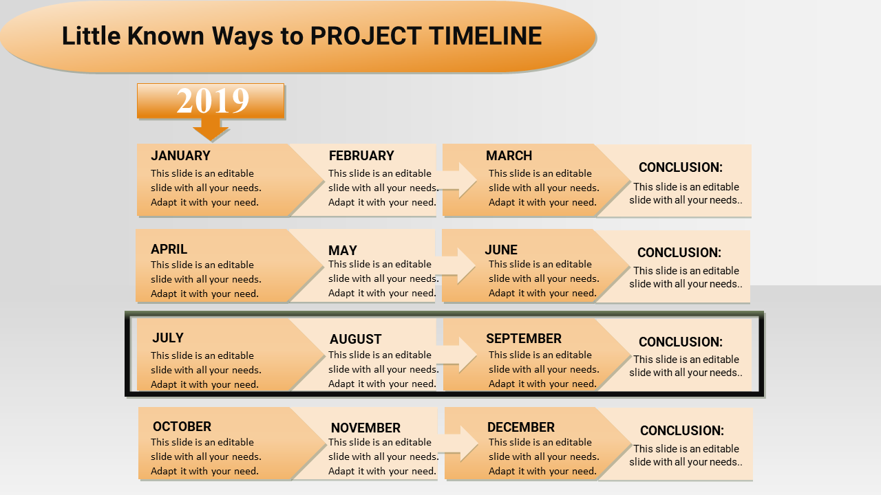 Systematical Project Plan Timeline Powerpoint Templ