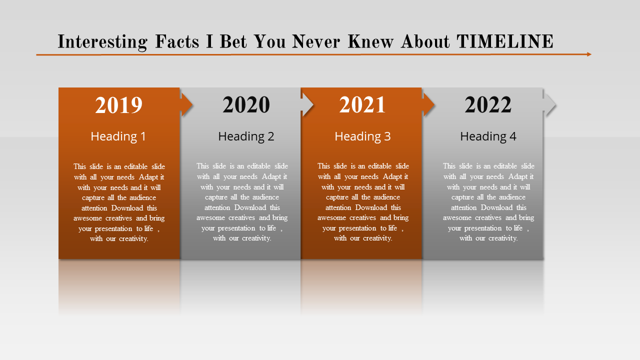 Free-screwed Project Timeline Powerpoint